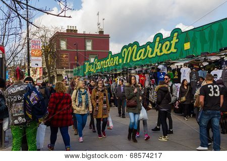 An Entrance To Camden Market