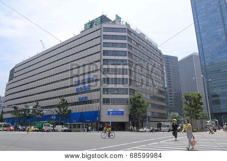 Umeda Hanshin Station Osaka Japan