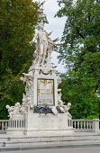 picture of mozart  - Vienna - JPG