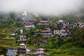 picture of luzon  - Village Banaue northern Luzon Ifugao province Philippines - JPG