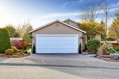 stock photo of driveway  - House exterior - JPG