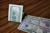 stock photo of two dollar bill  - One - JPG
