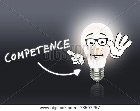 Competence Bulb Lamp Energy Light Gray