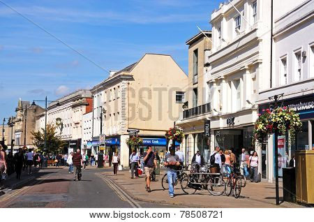 The High Street, Cheltenham.