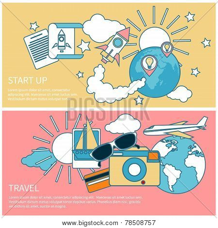 Start up rocket and international travel