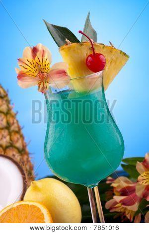 Most Popular Cocktails Series - Blue Hawaiian