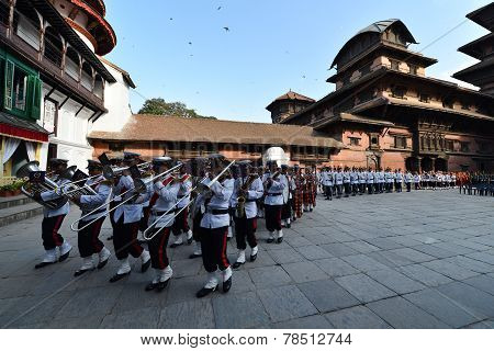 Nepalese Army Musicians