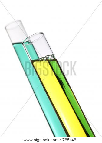 Two Test Tubes