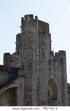 Tower Inside Carcassonne's Walls