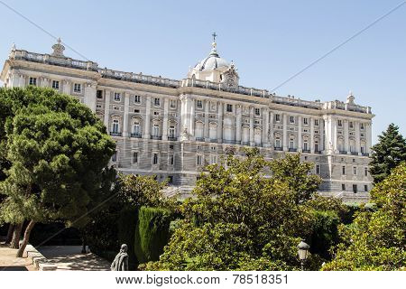 Royal Palace Madrid, Spain.
