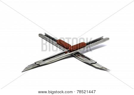 Cutter isolated on a white background