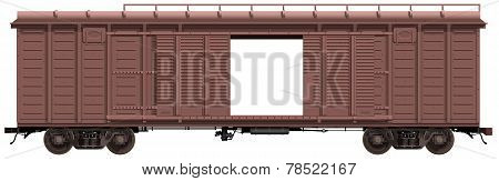 the freight-car