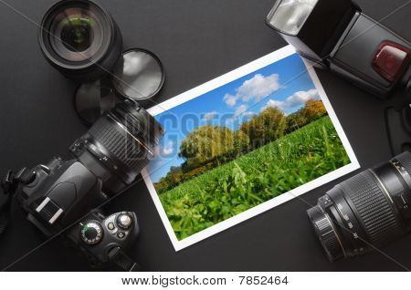 Cámara réflex digital e imagen
