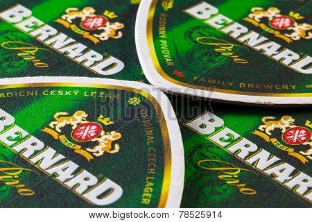 Beermats From Bernard Beer