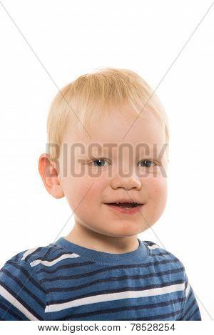 2-year-old Smiling Boy