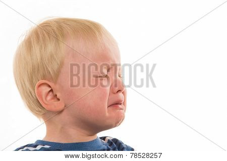 2-year-old Boy Crying