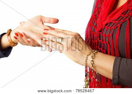 Gypsy Palm Reader