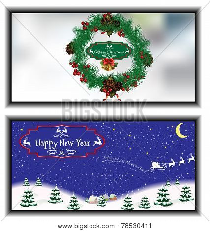Greeting Cards Happy New Year