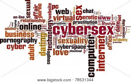 Cybersex Word Cloud
