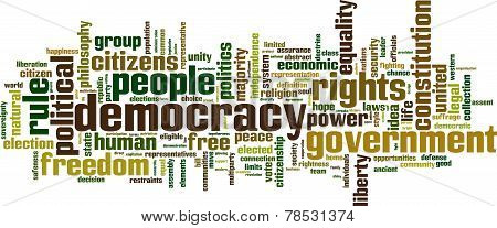 Democracy Word Cloud