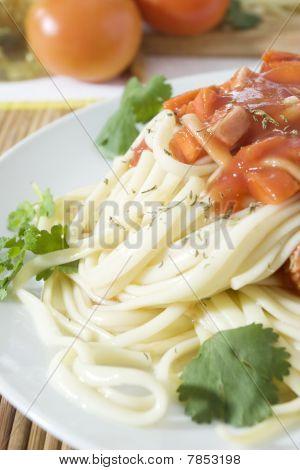 Spathetti meal