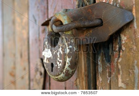 Old Rusty Lock