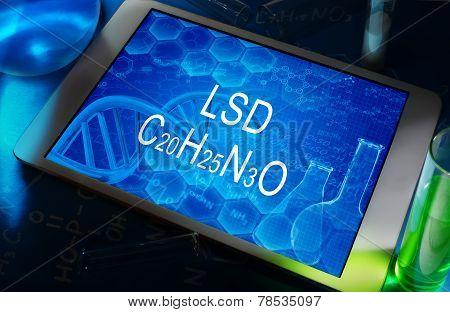 The formula of LSD