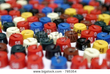 a lot of colour size washers
