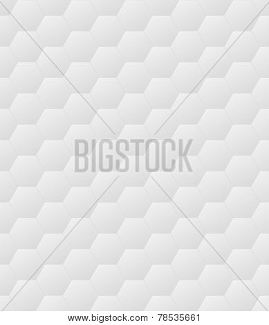 Hexagon pattern - light grey seamless tileable texture