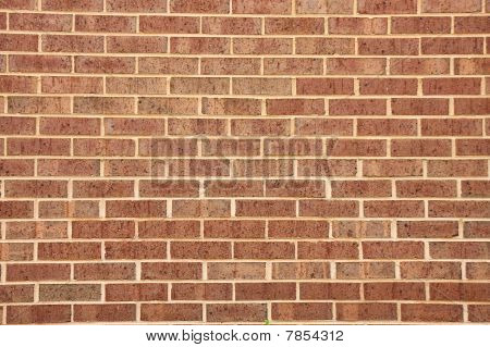 Brown Wall Of Wire Cut Bricks