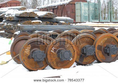 Railcar Wheels