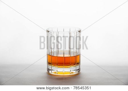 Whisky In A Straight-cut Glass