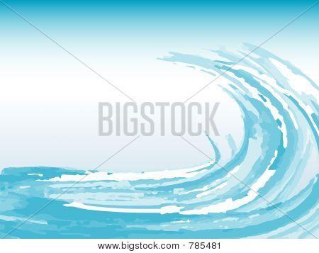 Grunge wave
