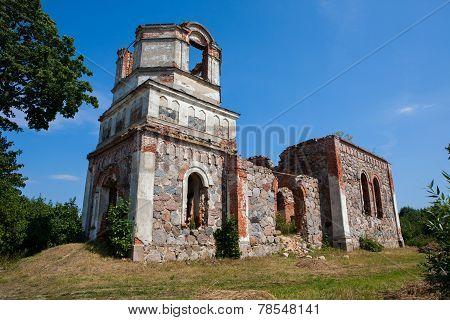 Ruins Of Orthodox Holy Transfiguration Church