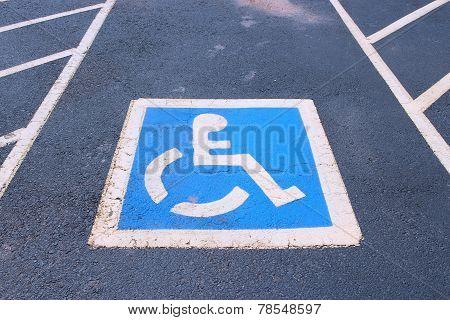Parking Spot Disabled