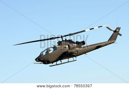 Army Helicopter Side View