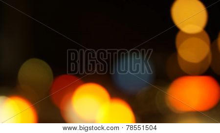 Red Christmas Blur Light Background
