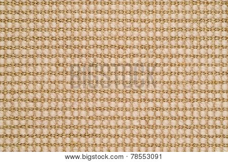 Woven Sisal & Wool Rug Background