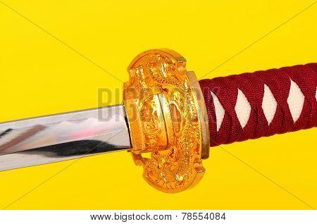 Macro Samurai Sword