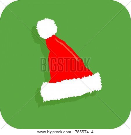 santa claus Christmas hat icon