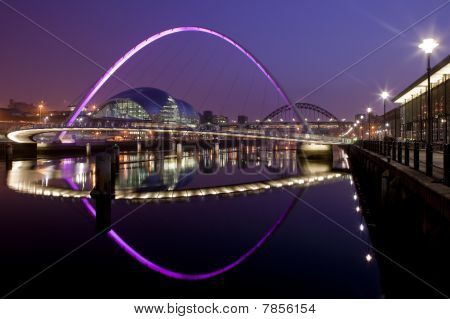 Newcastle and Gateshead Quayside