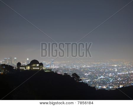 Foggy Los Angeles Night