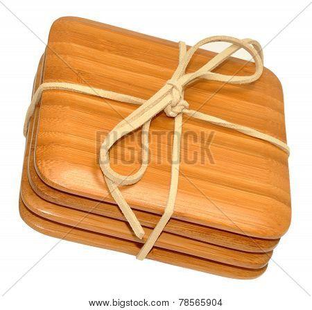 Bamboo Wood Coasters
