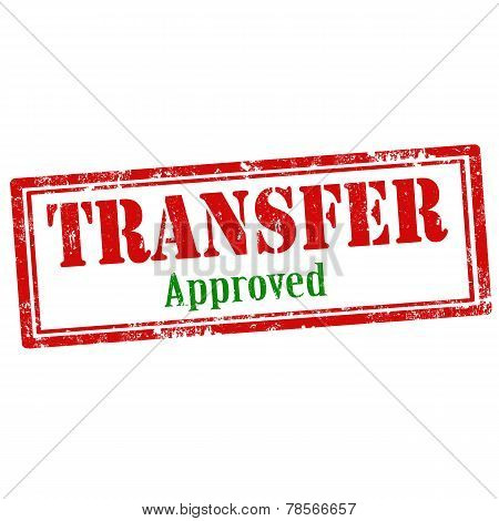 Transfer-stamp
