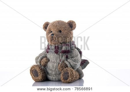Brown Bear Money-box