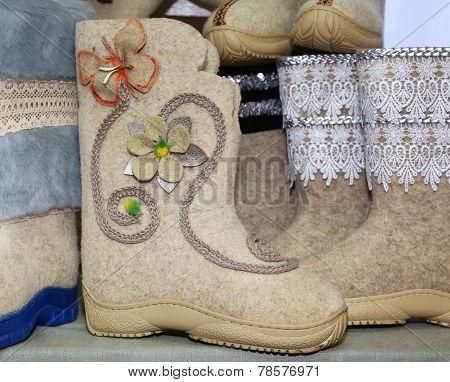 Felt Boots For Women