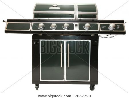 Large Gas Mangrill With Clipping Path