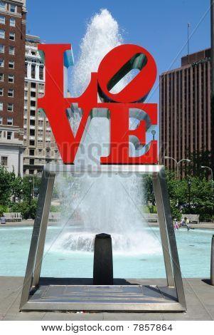 Love Park in Philadelphia