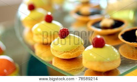 Colourful Dessert Buffet