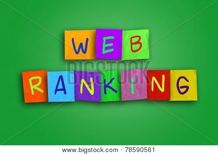 Web Ranking Internet Concept